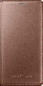 Pokrowiec | Etui Flip Cover do smartfona Samsung Galaxy S5 Mini EFFG800BFEGWW (złote),0