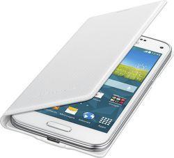 Pokrowiec | Etui Flip Cover do smartfona Samsung Galaxy S5 Mini EFFG800BHEGWW (białe),0
