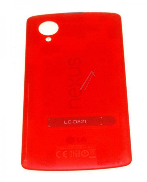 Klapka baterii do smartfona LG Nexus 5 D821 ACQ86691013 (czerwona),0