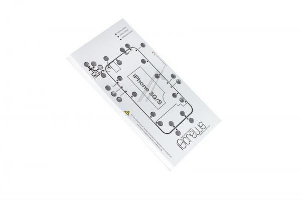 Szablon na śrubki iScrews do smartfona iPhone 3GS,0