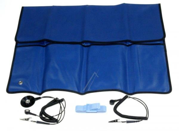 2400673 mata antystatyczna zestaw 54 x 61 cm, niebieska,0