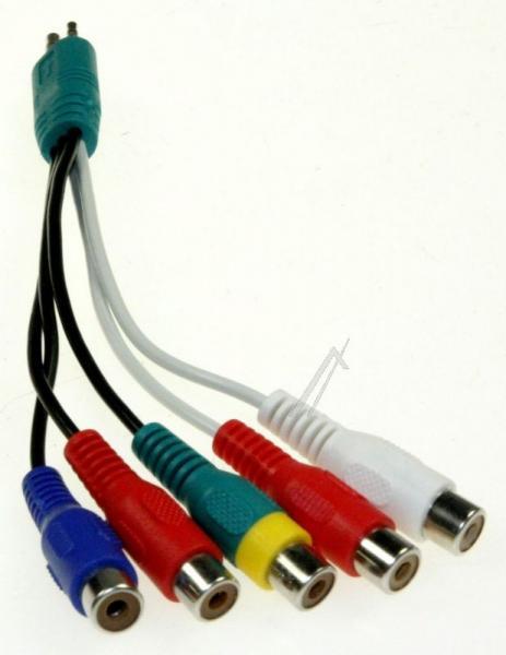 Kabel JACK - CINCH (wtyk/ gniazdo x5) K2KYYYY00214,0