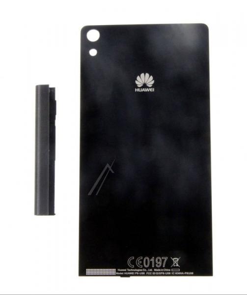 Klapka baterii do smartfona Huwaei Ascend P6 02231DGJ (czarna),0