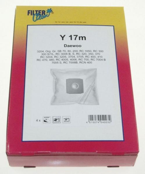 Worek tekstylny do odkurzacza (+jednorazowy) FL0195K,0