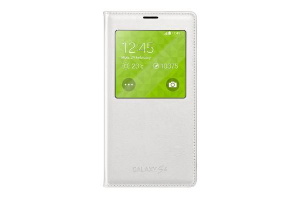 Pokrowiec | Etui S View do smartfona Samsung Galaxy S5 EFCG900BWEGWW (białe),0