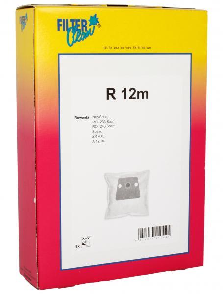 Worek tekstylny jednorazowy do odkurzacza  - oryginał: FL0052K,0