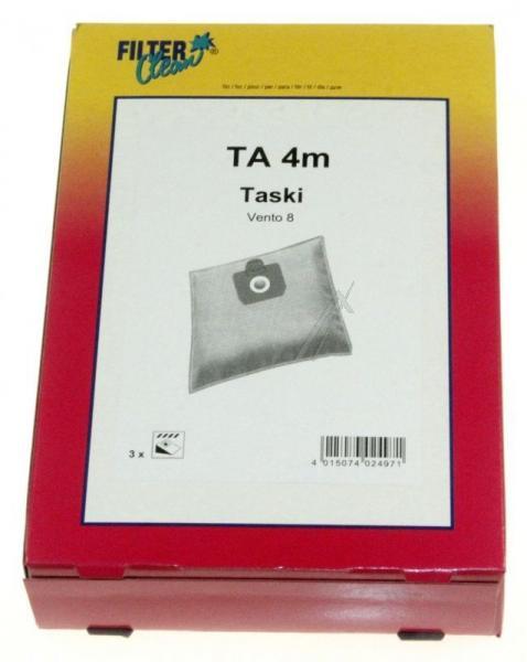 Worek tekstylny do odkurzacza (+jednorazowy) FL0066K,0