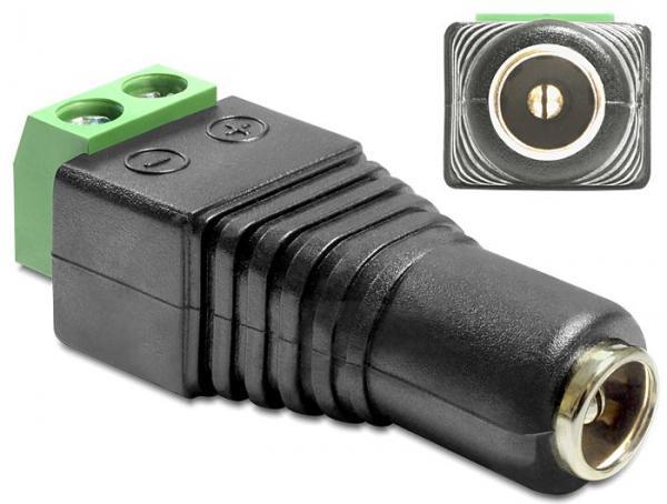 Adapter DC - zasilacz (wtyk/ gniazdo) 65421,0