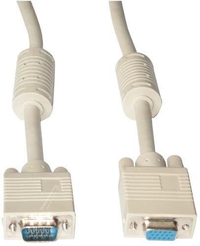 Kabel VGA 5m (wtyk/ gniazdo),0