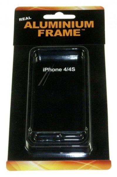 Ramka ochronna do smartfona Apple iPhone 4/4S (czarna) ALU26,0