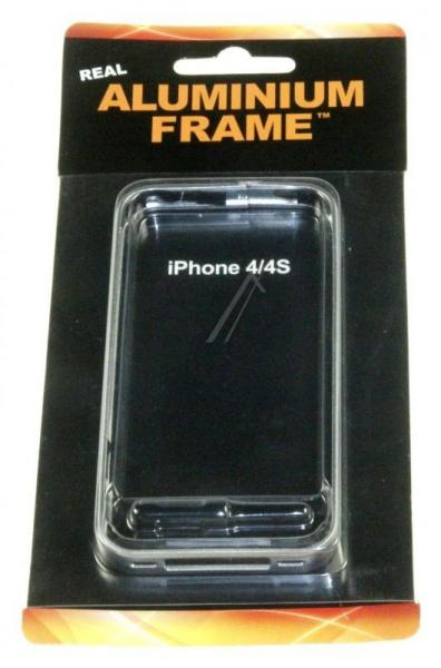 Ramka ochronna do smartfona Apple iPhone 4/4S (srebrna) ALU31,0