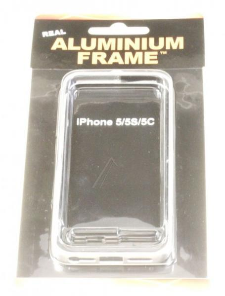 Ramka ochronna do smartfona Apple iPhone 5/5S/5C (srebrna) ALU11,0