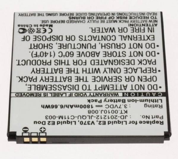 PDAA37266 3,7V-1800MAH, LI-ION SMARTPHONEAKKU ACER,0