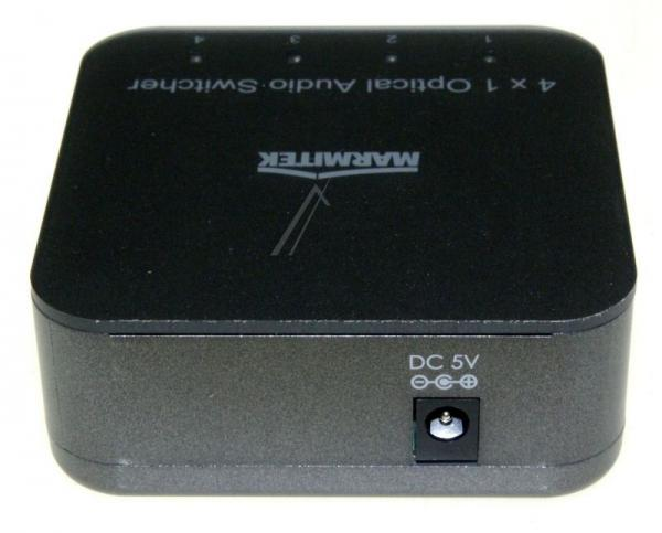 08203 CONNECTTS41 4 INPUT/1 OUTPUT TOSLINK DIGITAL AUDIO SWITCH MIT IR REMOTE MARMITEK,3