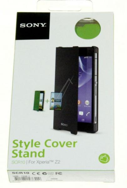 12867449 SCR10 SONY SMARTPHONE-COVER MIT STANDFUSS (GRÜN) SONY,1
