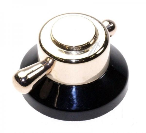 42026075 pokrętło rustykalne (złoto-czarne) VESTEL,0