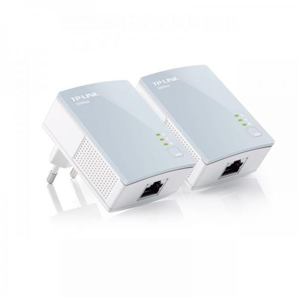 Transmiter   Adapter Powerline zestaw TP-Link TLPA411KITV20,0