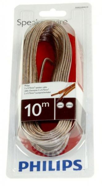 SWA2105W10 2X0,75MM kabel głośnikowy 10m, rozmiar 18 PHILIPS,4