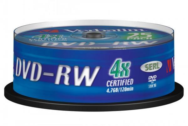 Płyta CD-RW Verbatim 43639,0