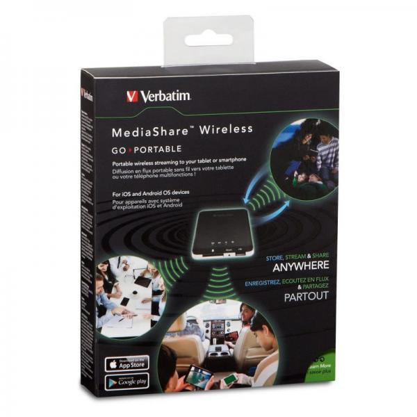 MediaShare Wireless Verbatim 98243,3