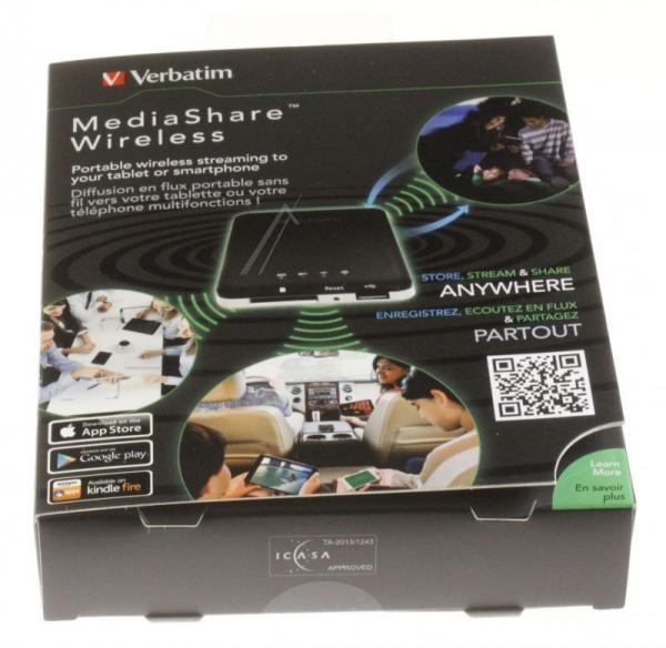 MediaShare Wireless Verbatim 98243,4