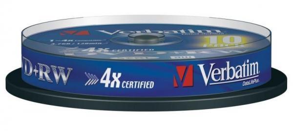 Płyta DVD+RW Verbatim 43488,0