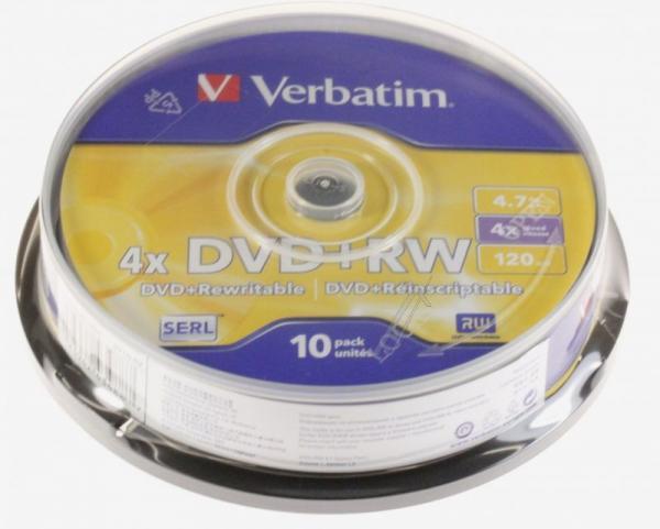 Płyta DVD+RW Verbatim 43488,2