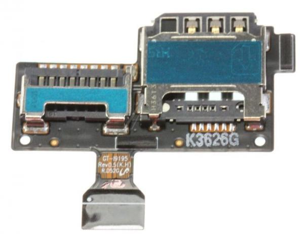 Moduł na kartę SIM i microSD do smartfona GH5913371A,0