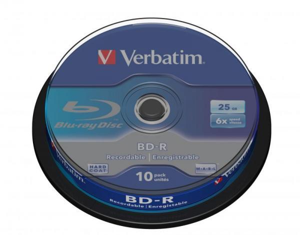 Płyta BD-R Verbatim 43742,0