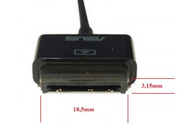 Ładowarka sieciowa USB + kabel do tabletu Asus,1
