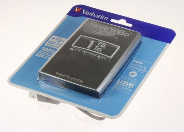 HDD | Dysk twardy Store `n` Go zewnętrzny USB 3.0 1TB Verbatim 53071,3