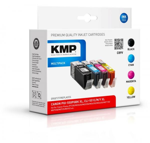 C89V 1518,0050 Tusz, multipack KMP,0