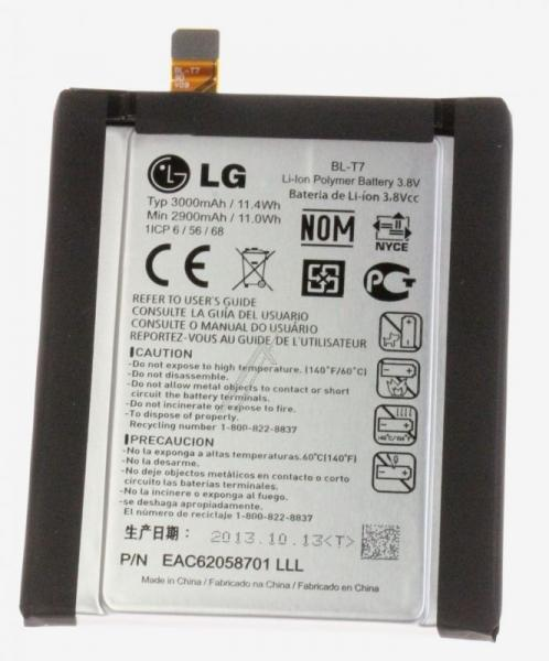 Akumulator   Bateria BL-T7 3.8V 3000mAh do smartfona EAC62058701,0