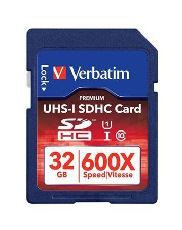 Karta pamięci SD HC 32GB do aparatu fotograficznego Verbatim,0