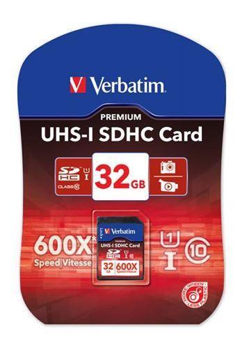 Karta pamięci SD HC 32GB do aparatu fotograficznego Verbatim,1