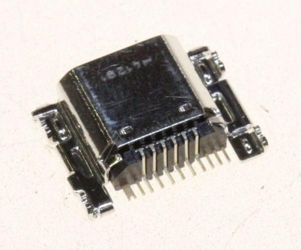 3722003840 JACK-MICRO USB11P,AU0.05UM,BLK,ANGLE,B, SAMSUNG,0