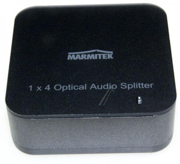 08205 SPLITTS14 1 INPUT/4 OUTPUT TOSLINK DIGITAL AUDIO SPLITTER MARMITEK,1