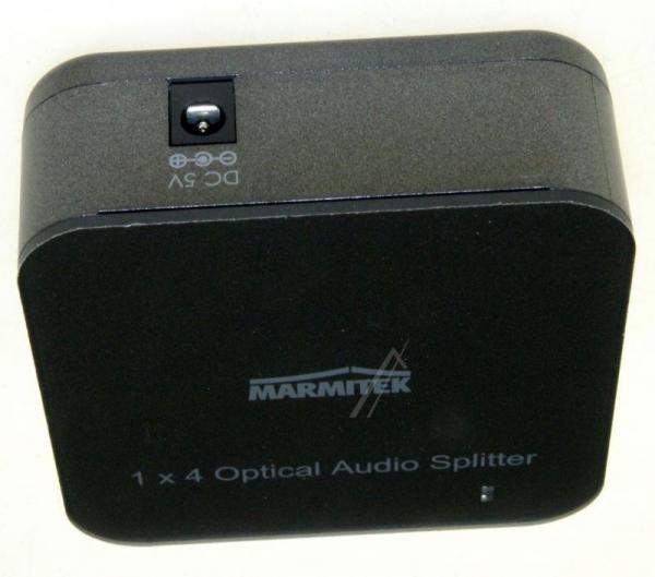 08205 SPLITTS14 1 INPUT/4 OUTPUT TOSLINK DIGITAL AUDIO SPLITTER MARMITEK,3