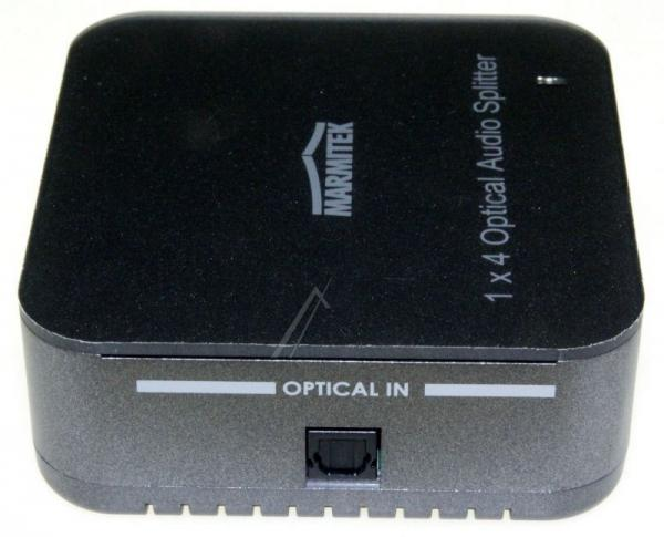 08205 SPLITTS14 1 INPUT/4 OUTPUT TOSLINK DIGITAL AUDIO SPLITTER MARMITEK,4
