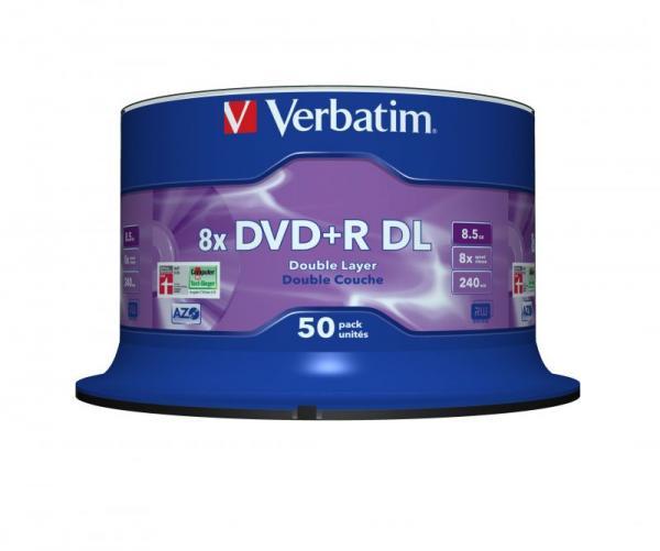 Płyta DVD+R DL Dual Layer Verbatim 43758,0
