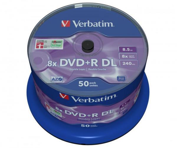 Płyta DVD+R DL Dual Layer Verbatim 43758,1
