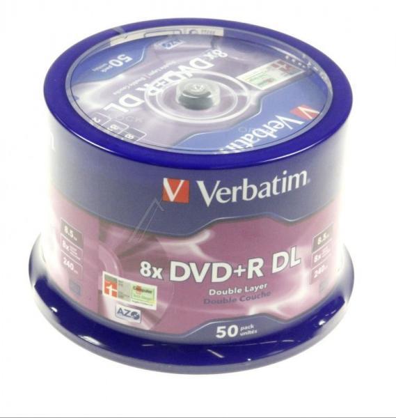 Płyta DVD+R DL Dual Layer Verbatim 43758,2
