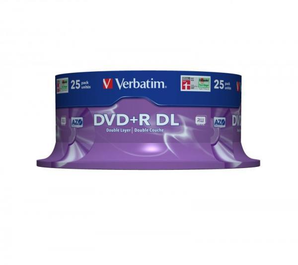Płyta DVD+R DL Dual Layer Verbatim 43757,0