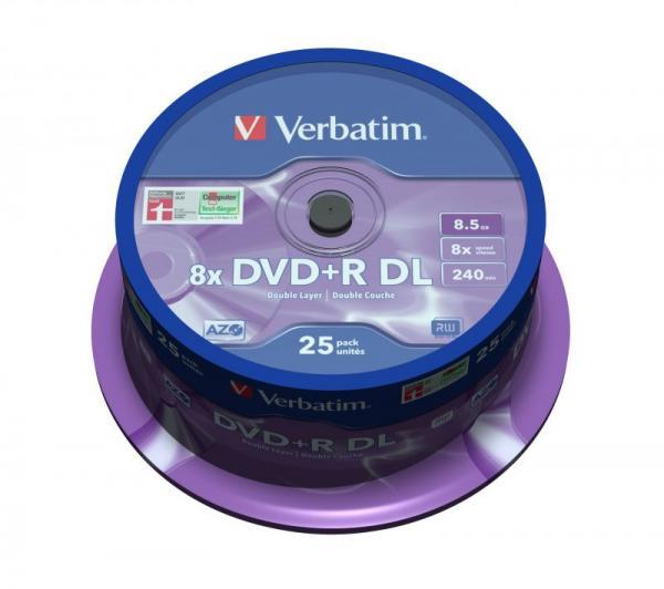 Płyta DVD+R DL Dual Layer Verbatim 43757,1