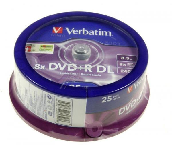 Płyta DVD+R DL Dual Layer Verbatim 43757,2