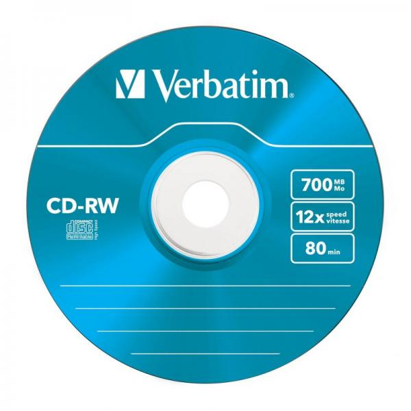 Płyta CD-RW Verbatim 43167,1
