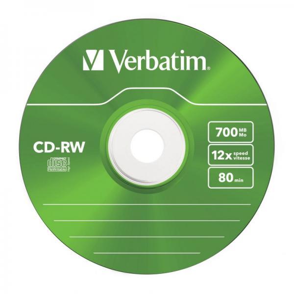Płyta CD-RW Verbatim 43167,2