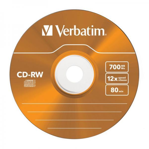 Płyta CD-RW Verbatim 43167,3