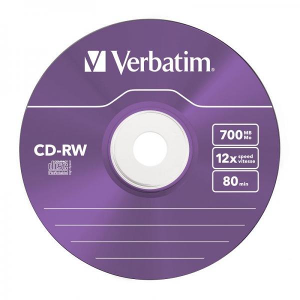 Płyta CD-RW Verbatim 43167,5