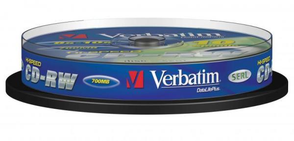 Płyta CD-RW Verbatim 43480,0